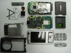 Nokia N95 Teardown