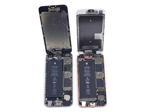 Image 2/2: Apple has also condensed the display assembly connections into three cables, as opposed to the four seen in the iPhone 6.