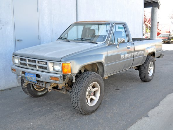 1984 1988 toyota pickup repair 1984 1985 1986 1987 1988 ifixit. Black Bedroom Furniture Sets. Home Design Ideas