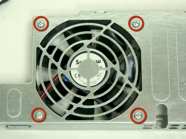 Power Mac G4 M5183 Main Fan Replacement