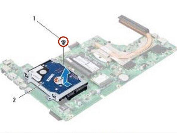 Reemplazo de disco duro Dell Inspiron 13 N3010
