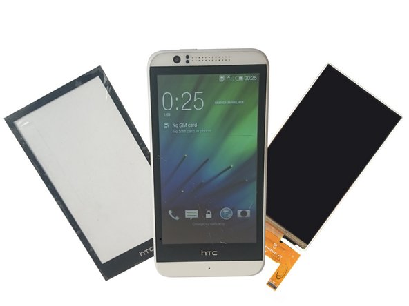 HTC Desire 510 Touch screen Glass and/or LCD Display