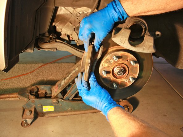 2003-2007 Honda Accord Front Brake Pads Replacement (2003 ...