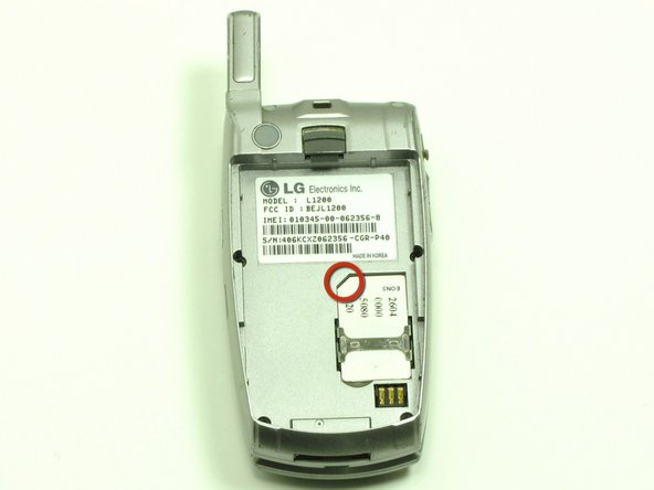 Once removed, replace with new SIM Card, making sure that the cut corner fits into the cut corner of the slot.