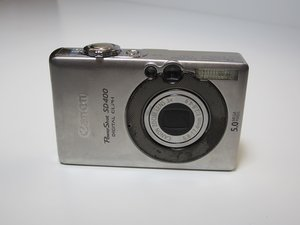 Canon PowerShot SD400 Troubleshooting