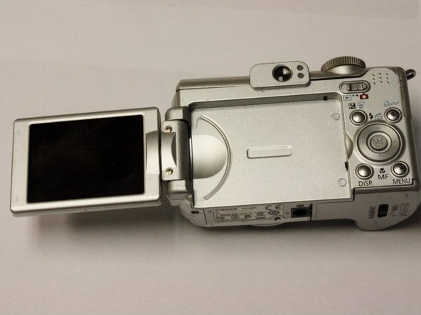 Canon PowerShot A630 LCD Screen Replacement