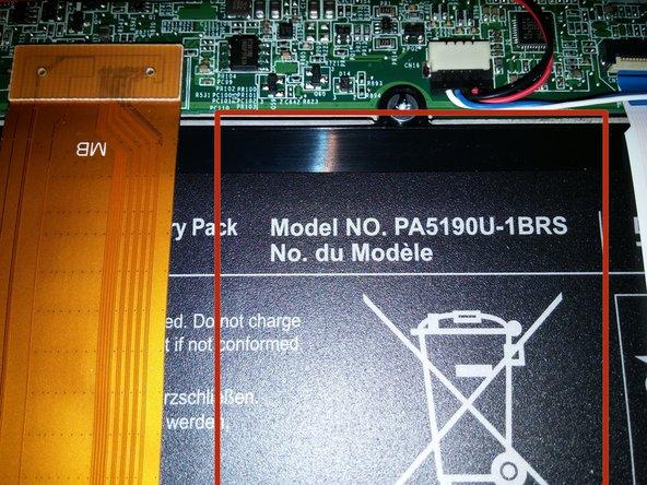 Battery Model #PA5190U-1BRS