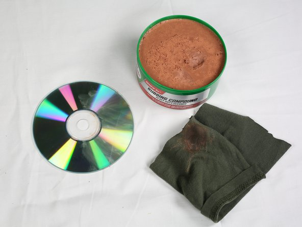 Let the CD sit for 5 minutes.