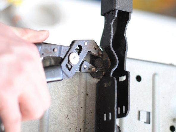Remove the garage door motor unit.
