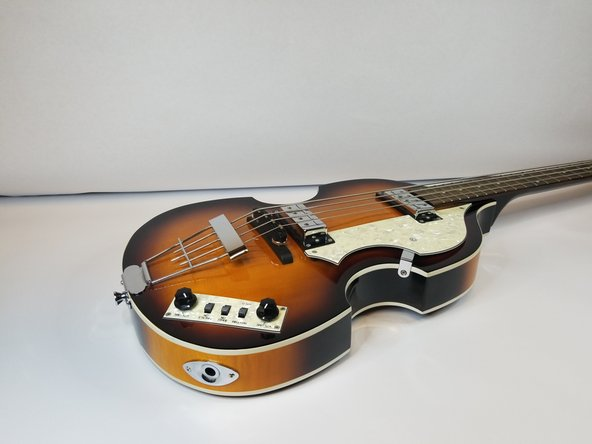 Replacing the Audio Jack on a Hofner Violin Bass