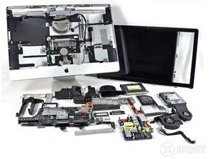 "iMac Intel 27"" EMC 2309 and 2374 Teardown"