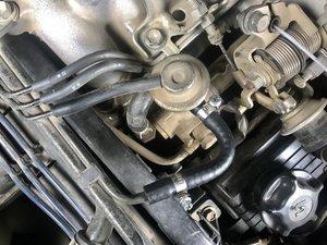 Pressure Regulator Fuel Return Line