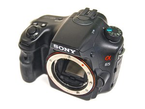 Sony SLT Alpha-65V Repair