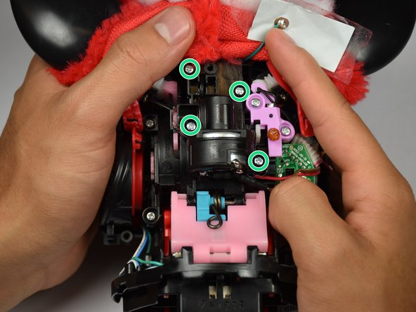 Hasbro furby 2012 DC Motor Replacement