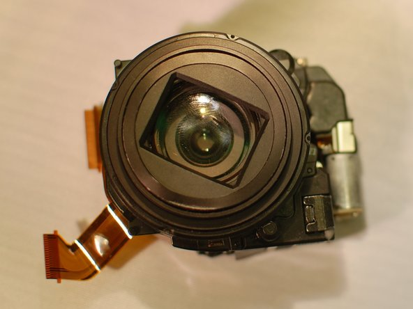 Sony Cyber-shot DSC-HX20V Lens Assembly Replacement