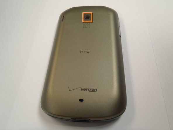 HTC Ozone Rear Battery Cover Replacement