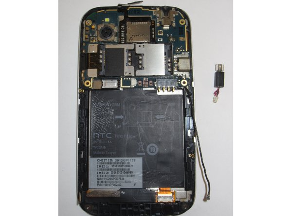 HTC Desire V Vibration Motor Replacement