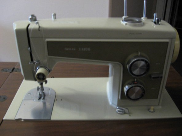 Kenmore Sewing Machine Model 1351 Manual Main Image