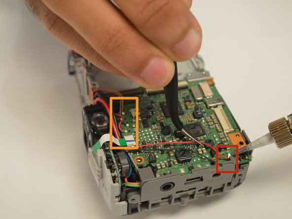Be observant of where you are soldering because you can easily disrupt the power distribution.