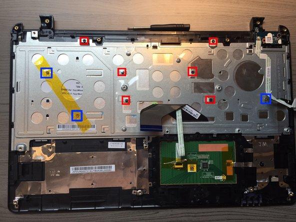 Remove 6x Philips screws