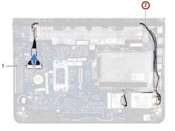 Dell Inspiron 11z 1120 Display Assembly Replacement
