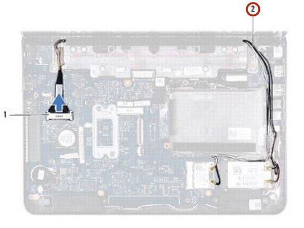 Dell Inspiron 11z 1120 Reemplazo del ensamblaje de la pantalla