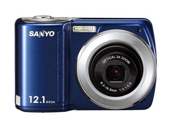 sanyo camera repair ifixit rh ifixit com Sanyo Digital Camera Instruction Book Sanyo 14MP Digital Camera