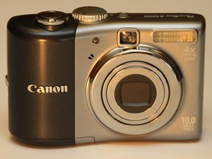 Canon PowerShot A1000 IS Case Disassembly