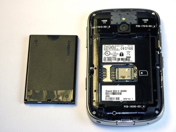Blackberry Bold 9000 Battery Replacement