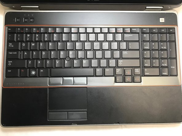 Dell Latitude E6520 Keyboard Replacement