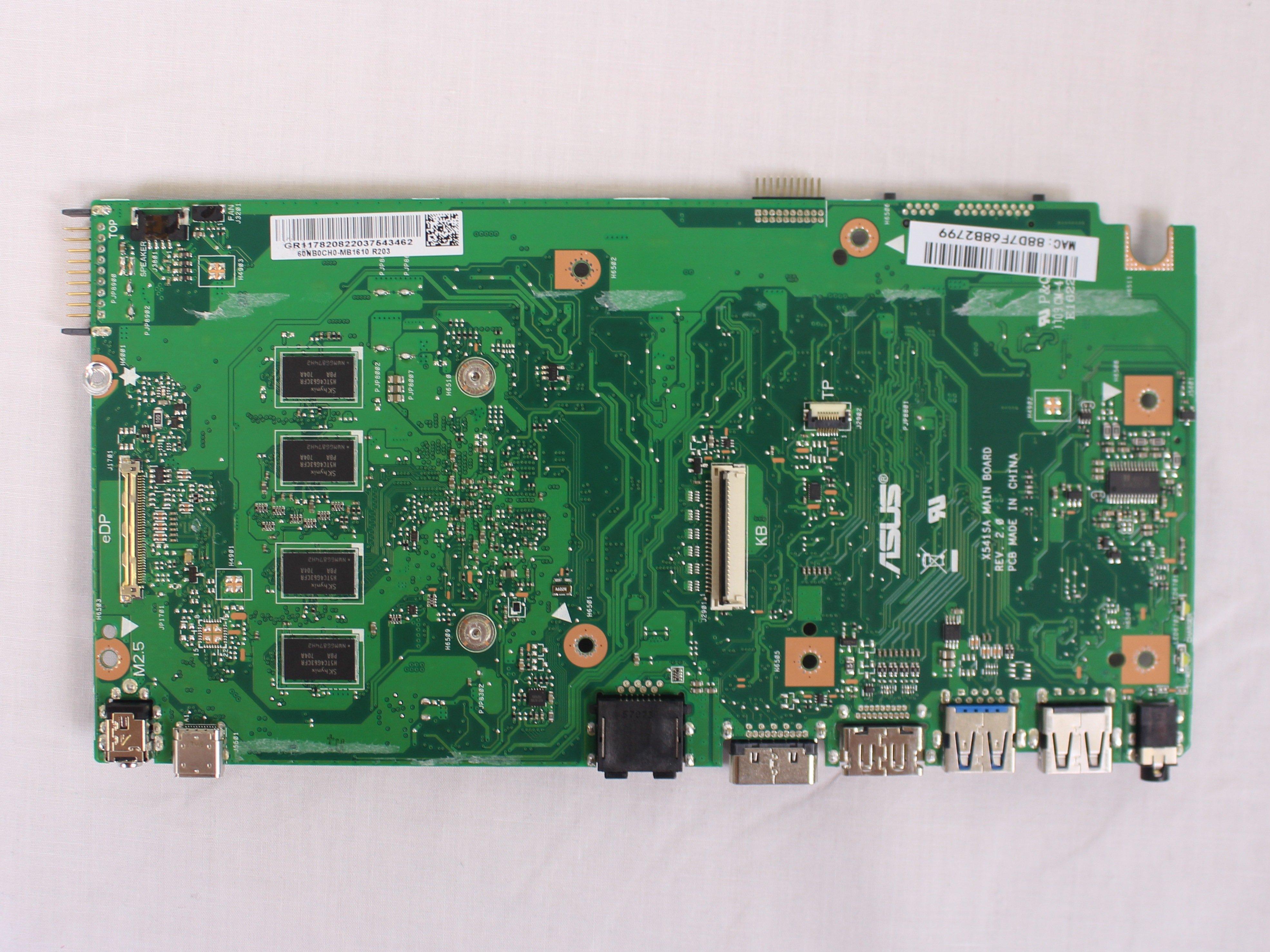 Asus VivoBook Max X541SA Laptop Windows Vista 32-BIT
