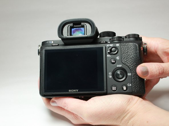Sony Alpha a7s II Diopter Replacement