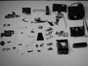 Polaroid One-Step 600 Teardown