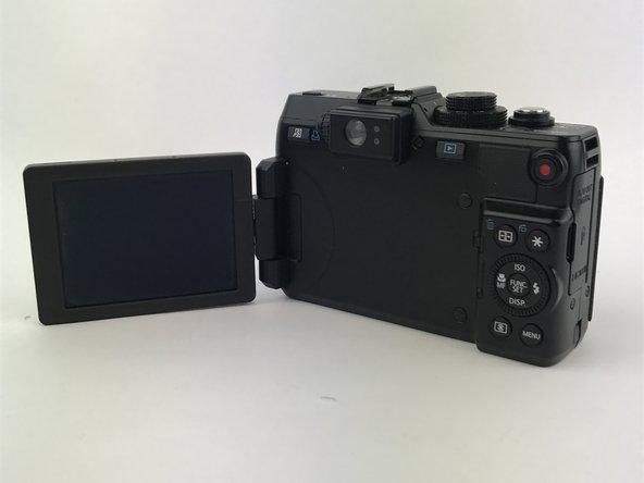 Canon PowerShot G1 X Screen Casing Replacement