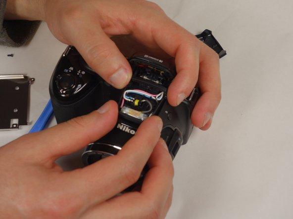 Remove the plastic casing surrounding the flash.