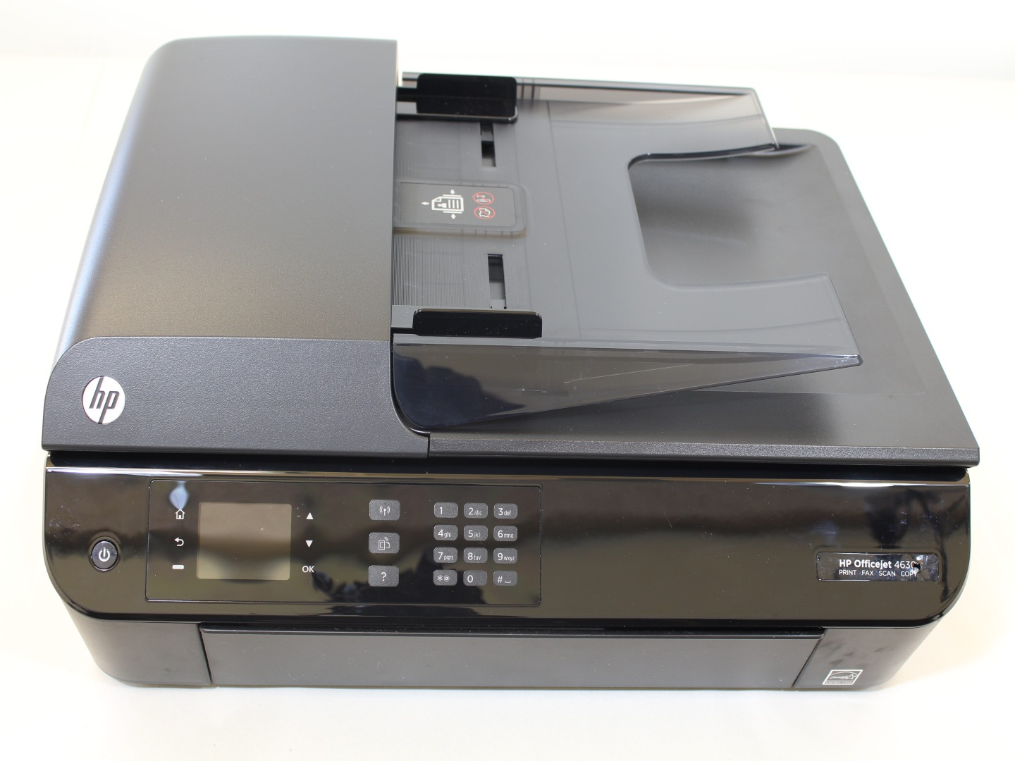 how to change language on hp officejet 4630