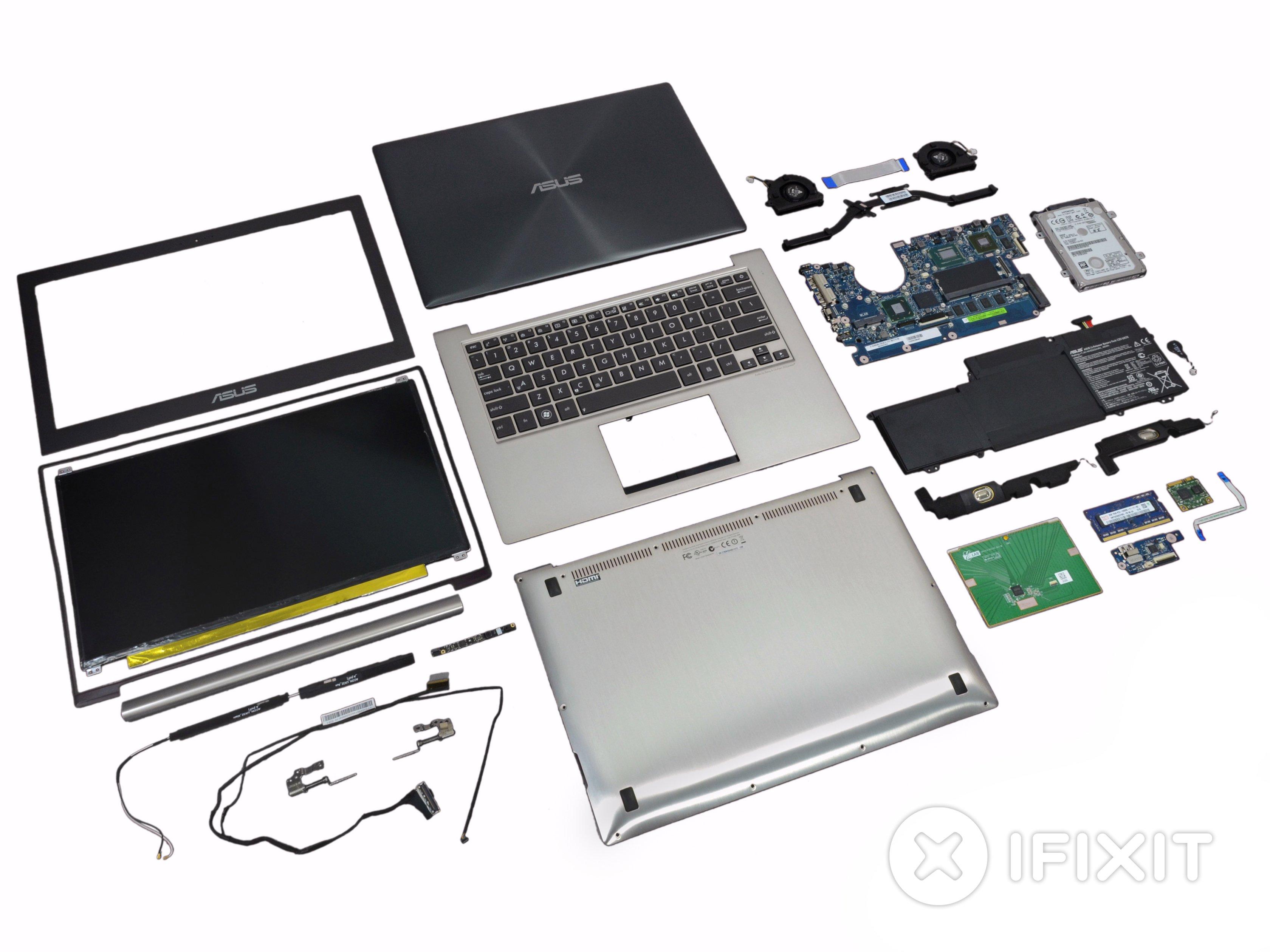 Asus Zenbook UX32VD Teardown - iFixit