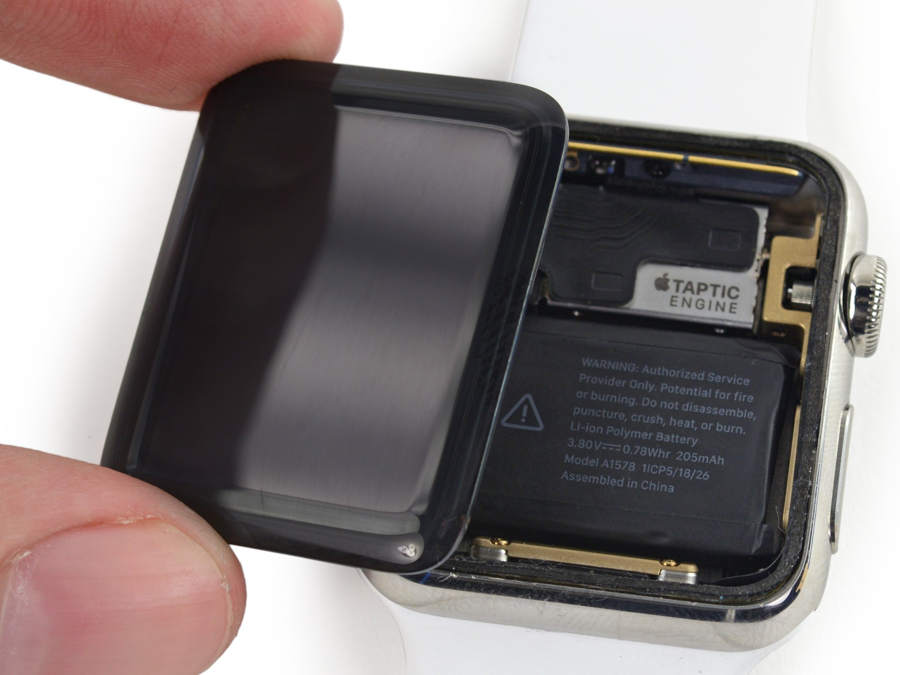 conserto tela Apple Watch