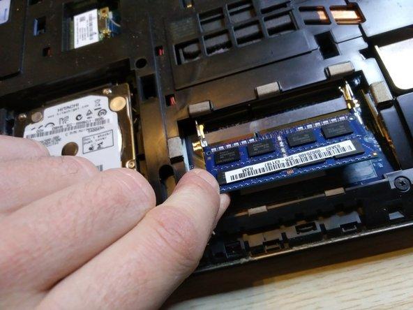 remove the RAM