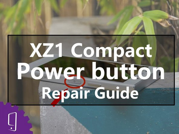Sony Xperia XZ1 Compact power button Replacement