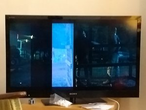 SOLVED: There was water in my TV (condensation!) and now there are