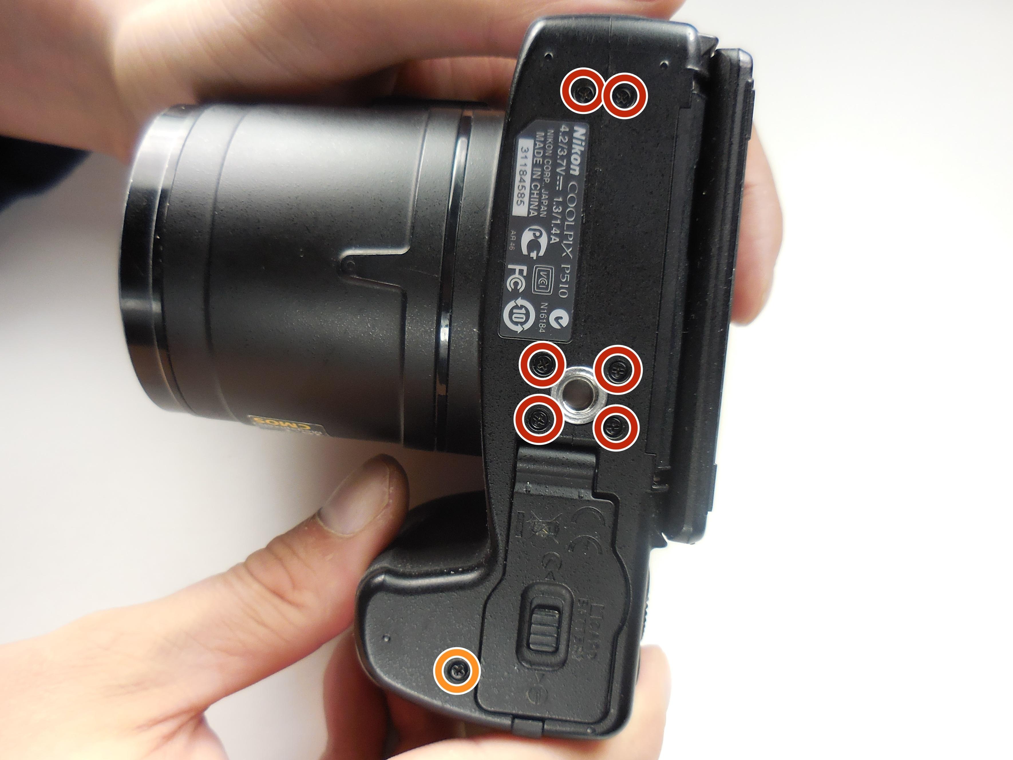 nikon coolpix p510 lens assembly replacement tutoriel de rh fr ifixit com Nikon Coolpix Nikon D500