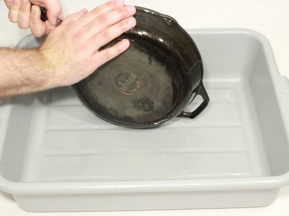 Image 3/3: The coating should be kept relatively thin, so do not be afraid to dab up excess oil with a paper towel.