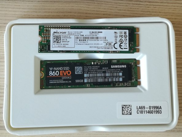 db3403bd223 ... To remove the SSD, simply remove the single screw that holds it. You can