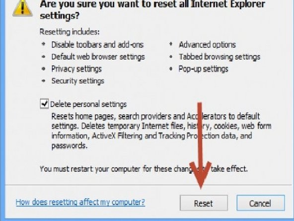 Repairing Internet Explorer Crashes