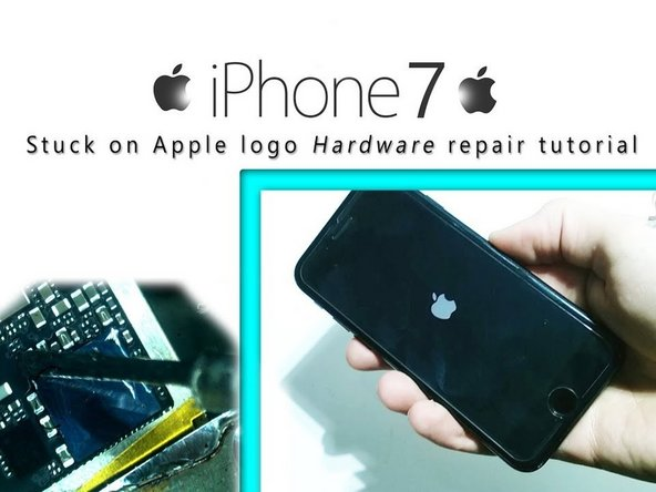 How to fix an iPhone 7 stuck / hanging on a logo