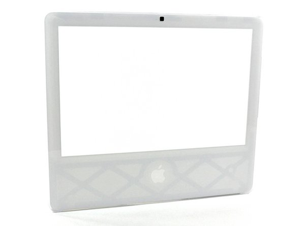 "iMac Intel 17"" Front Bezel Replacement"