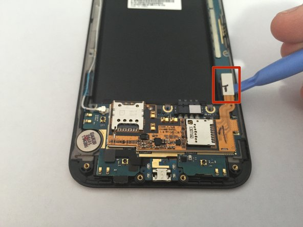 LG Optimus G Pro SIM/MicroSD Assembly Replacement