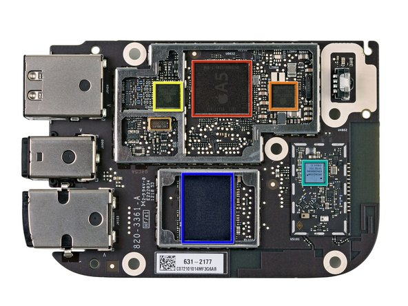 Image 1/3: Apple A5 Single Core processor