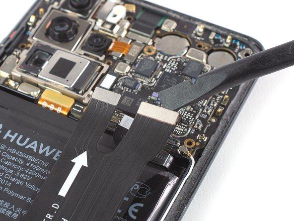 Reemplazo de los conectores principales del cable flexible del Huawei P30
